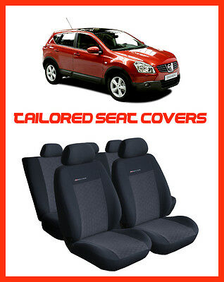 Seat covers  for NISSAN QASHQAI 2007 - 2013  Tailored seat covers full set - 1
