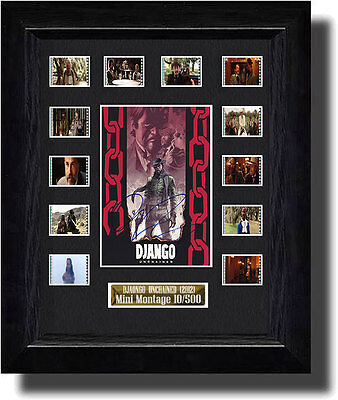 Django Unchained Signed by Quentin Tarantino film cell  (2012)