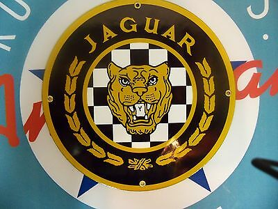 JAGUAR - Porcelain Plated Metal Sign