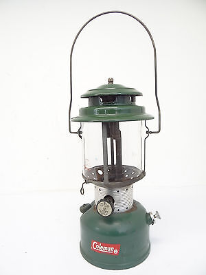 Vintage Used Old Green 10 63 Coleman model 220F 228F Camping Lantern Lamp Parts