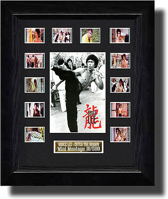 Bruce Lee : Enter the Dragon film cell (1973)