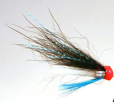 Salmon Fly, Riffle hitch. Haugur. (3-pack) Pick a size. Fly Fishing Fly