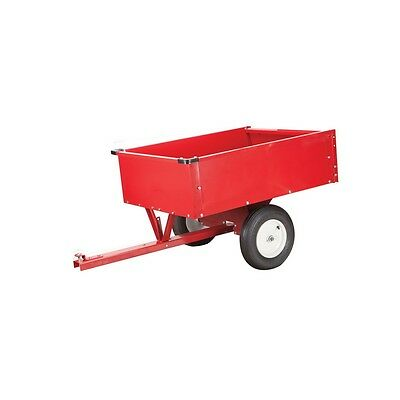 HD Garden Utility DUMP Cart Trailer 10 cu.ft. Fertilizer Yard Lawn Waste