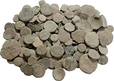 50 Uncleaned Ancient Coins