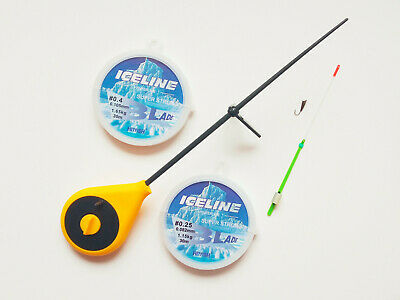 Fisherman ICE MORMYSHKA SET Ice Fishing Winter SALMO Palm Rod Balalaika