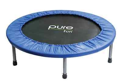 Pure Fun 38-inch Mini Trampoline Great Cardio Workout Exercise Fitness Equipment