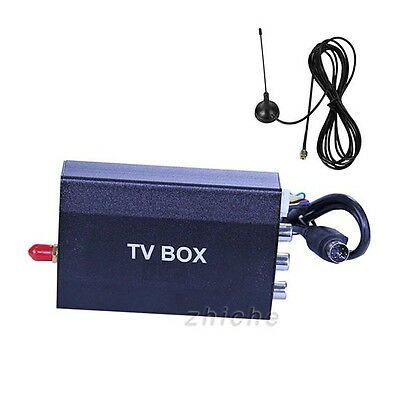 New ISDB-T HD/SD Car Digital TV Box Receiver Tuner Antenn Fit for Brizal/ Japan