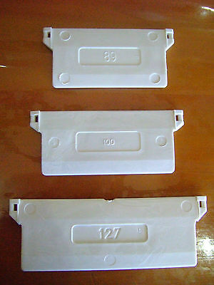 Vertical Blind Bottom Weights For Slats All Sizes And Colours Diy Parts