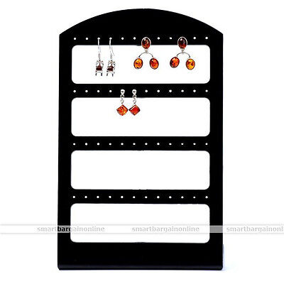 Display Rack Stand Holder Organizer For 48 Hole 24 Pair Earring Collection Jewel