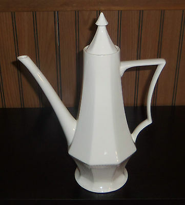 Vintage Nasco Valley Forge Ceramic Coffee Pot made in Japan Tea Pot Kettle