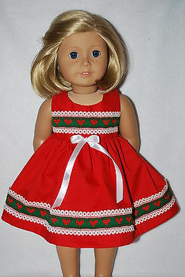 """Doll Clothes fit 18 """" American Girl dolls & 19"""" Chatty Cathy handmade in the USA"""