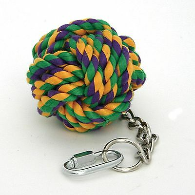 ROPE ACTIVITY TOY FOR PARROTS, & OTHER LARGE BIRDS (Very Hardwearing)