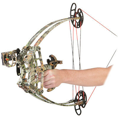 RTS ALIEN 30-50lbs Triangle Compound Bow Apex Hunting Left & Right Hand Archery