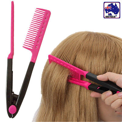 Hair Cut Salon Equipment Straightener Styling Comb Straightening Tool JHCOM2613