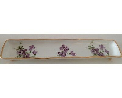 Hammersley Spode Victorian Violets Pen Stand Dish