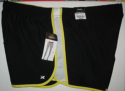 XERSION - NEW - WOMEN'S  RUNNING SHORTS - CHOSE COLOR AND SIZE - XL OR XXL