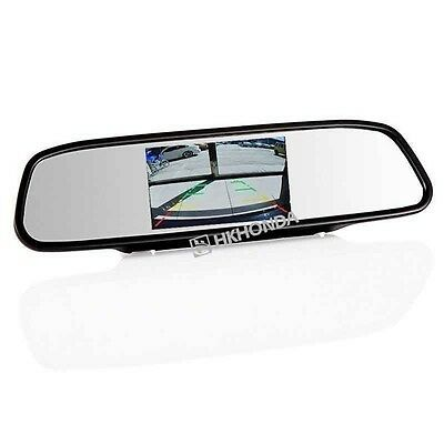 "4.3"" inch Screen TFT Car LCD Rear View Rearview DVD Mirror monitor For Dodge"