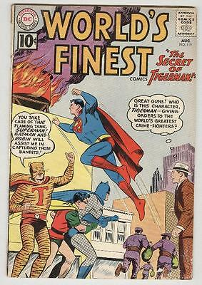 World's Finest #119 August 1961 VG- Tigerman