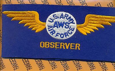 USAAF WWII Army Air Force Aircraft Warning System Observer Arm band wool NOS