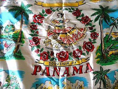 Vintage Souvenir Pillow Cover from Panama