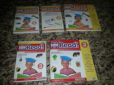 Your Baby can Read Volume 2 & 3  Early Reading System