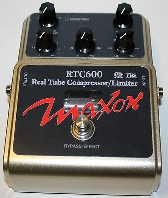 MAXON RTC600 REAL TUBE COMPRESSOR PEDAL, NEW ! Maxon Authorized Dealer