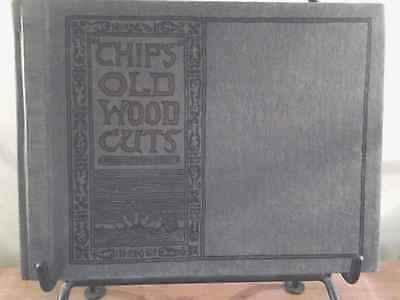 Chips vintage Wood Cuts book