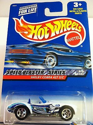 Hot Wheels - 2000 Speed Blaster Series - Shelby Cobra 427 S/C - Collector # 040