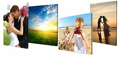 Custom Gallery Wrapped Canvas; Print Your Own Photo On Canvas