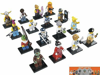 New LEGO 8804 Complete Set of 16 MINIFIGURES Series 4