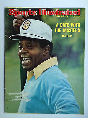 March 10, 1975 Sports Illustrated AW, COME ON JACK - Picks up Another PGA