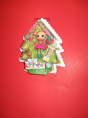 """Lalaloopsy Exclusive Holly Sleighbells Mini 3"""" Doll (MIP) New"""