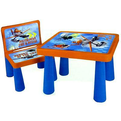 Disney Planes Sit And Colour Drawing Colouring Art Desk Table Chair Play Set