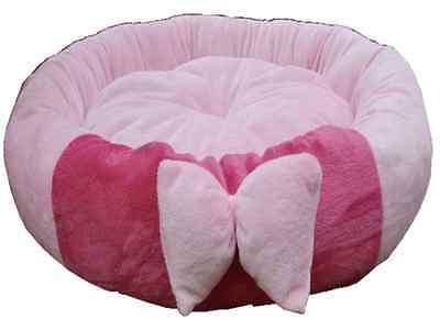 New Large Pink Cat Pet Bed Ideal For 2 Cats Now Only £14.99 Fully Washable