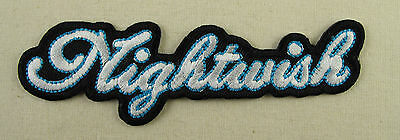 NIGHTWISH  Embroidered Iron On/Sew On Patch  Metal Band