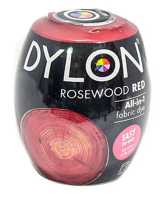 Dylon Rosewood Red Machine Dye Pods No 64 Fabric-Dye (Discount for Qty)