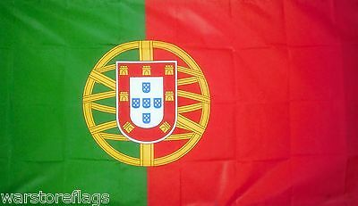 PORTUGAL LARGE FLAG 8 X 5 FEET flags Portuguese Porto