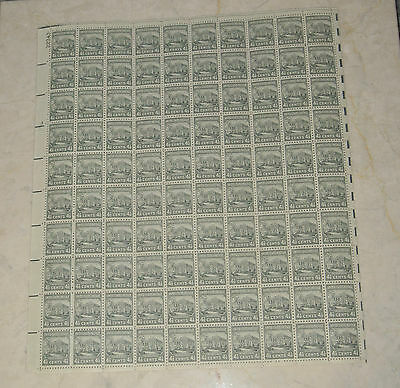 VIintage UNUSED US POSTAGE STAMPS 4½¢ 'THE WHITE HOUSE' 2 SHEETS/200 STAMPS
