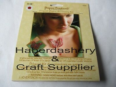Plaid Jewelry Paper Accessory Kit Diy Butterfly Set 80848