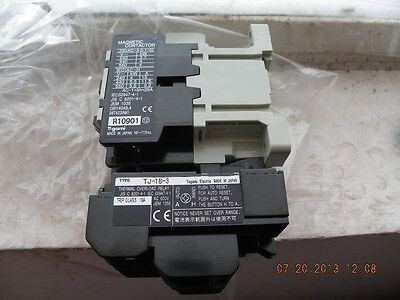 New Togami Electric Tj-18-3 Thermal Overload Relay Contactor