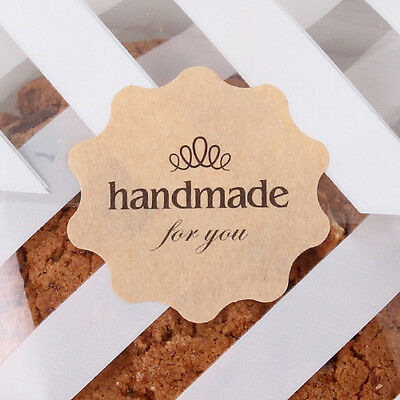 """24 pcs """"Hand Made for you"""" sticker Party bages/ Gift Favour Boxes"""