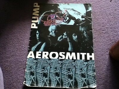 AEROSMITH - Pump -  Tour programme