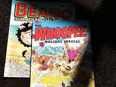 WHOOPEE Holiday Special 1991 & BEANO Summer Special 1994