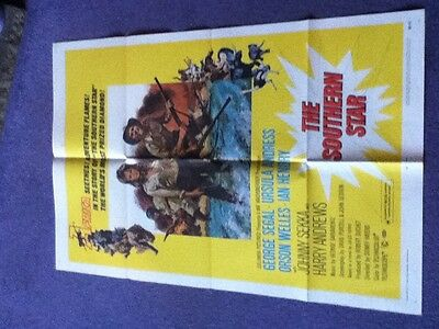 Ursula Andress - THE SOUTHERN STAR - Original US One sheet movie poster 1969