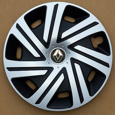 "Set of  4x15"" wheel trims to fit Renault Scenic, Megane"