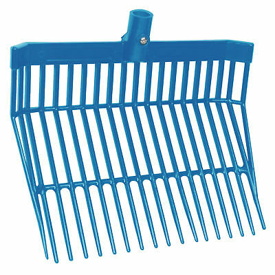 Faulks ABS Plastic Bedding Mucking Out Fork/Replacement Head