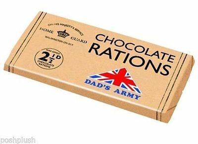 Dad's Army Chocolate Bar - Chocolate Rations Dads Army