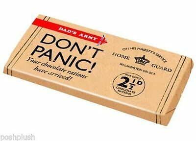 Dad's Army Chocolate Bar - Don't Panic Dads Army