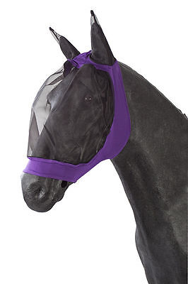 Nylon Soft Lycra Hood Fine Mesh Face Protection Fly Mask