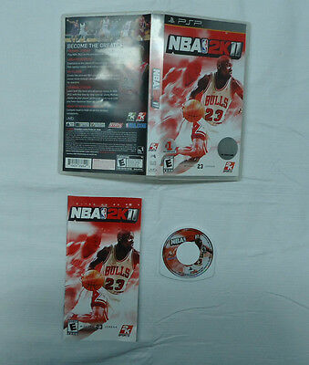NBA 2K11 Used Complete  (Sony PSP, 2010)